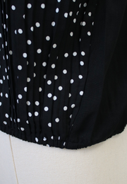 Printed Half Button Blouse