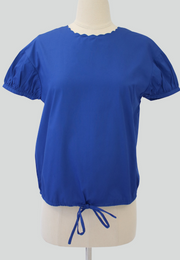 Boxy Top with Drawstring
