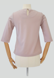 3/4 Sleeve Top with Sleeve Buttons