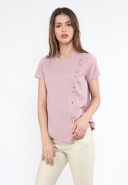 Plain Top with front Button Details