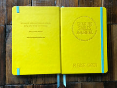 Journal Back and Front