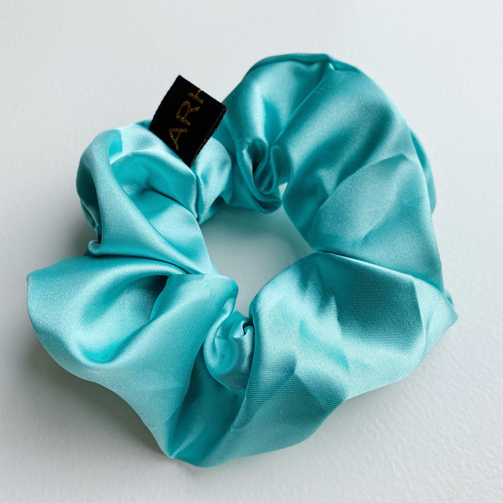 Happy Blue Scrunchie