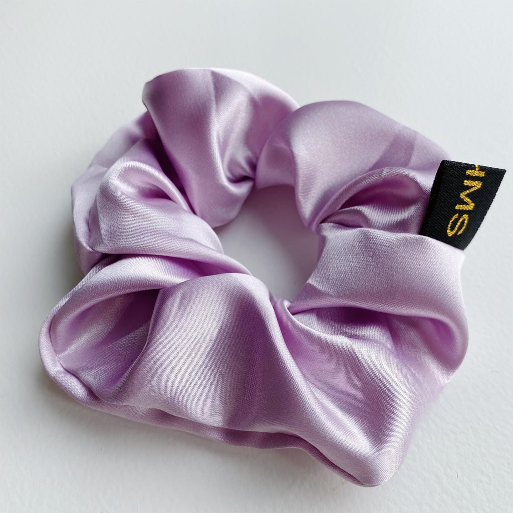 Happy Purple Scrunchie