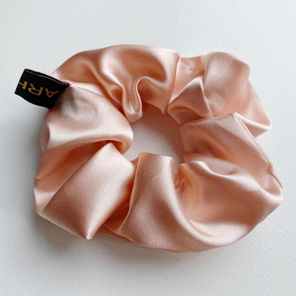 Happy Peach Scrunchie