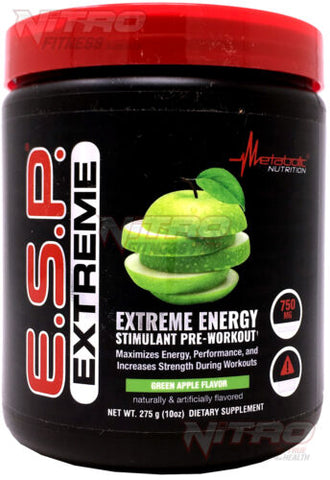 Metabolic Nutrition - ESP Extreme Pre Workout