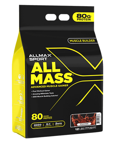 AllMax-All Mass Advanced Muscle Gainer 12lb