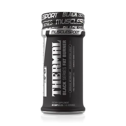 Muscle Sport- Thermal Black