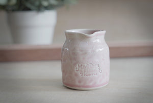 Maverick & Farmer ceramic milk pitcher