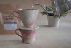 Pour over coffee brewer - Ceramic by Maverick & Farmer