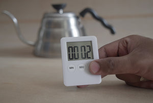 Coffee brewing digital timer