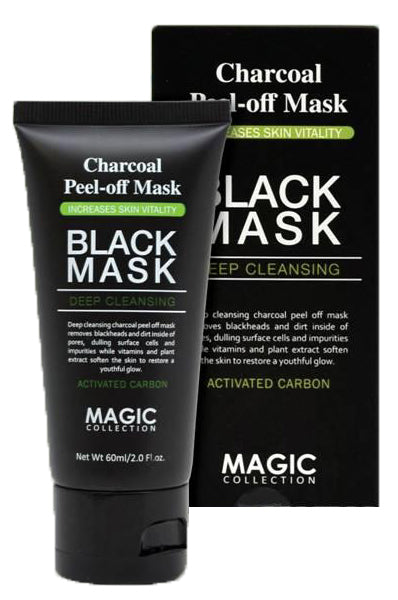 Charcoal Peel-Off Mask - All Star Beauty Complex