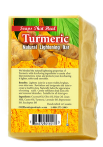 Turmeric Natural Lightening Bar - All Star Beauty Complex