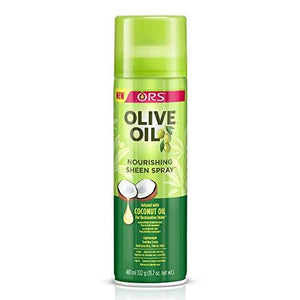 ORS Olive Oil Nourishing Sheen Spray infused with Coconut Oil - All Star Beauty Complex