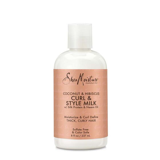 Shea Moisture Coconut & Hibiscus Style & Curl Milk - All Star Beauty Complex