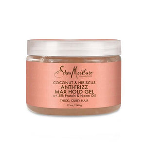 Shea Moisture Coconut & Hibiscus Anti-Frizz Max Hold Gel - All Star Beauty Complex