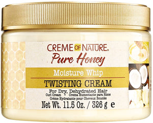 Cream of Nature Pure Honey Moisture Whip Twisting Cream 11.5oz - All Star Beauty Complex