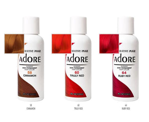 ADORE SHINING SEMI-PERMANENT HAIR COLOR 118ML - All Star Beauty Complex