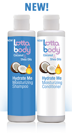 LOTTA BODY COCONUT & SHEA OILS HYDRATE ME SHAMPOO ONLY - All Star Beauty Complex