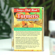 Load image into Gallery viewer, Turmeric Natural Lightening Bar - All Star Beauty Complex