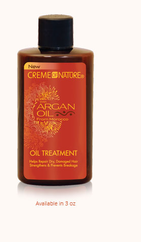 CREME OF NATURE ARGAN OIL OIL TREATMENT 3OZ - All Star Beauty Complex