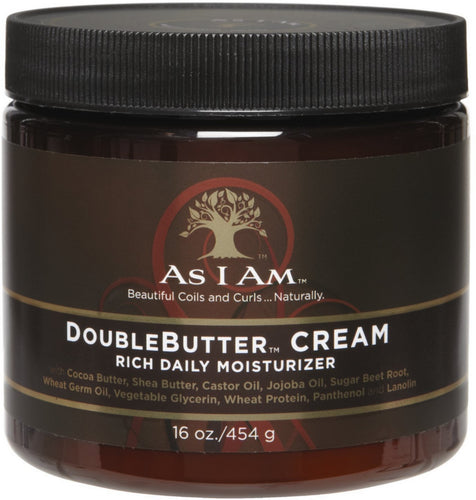 As I Am Naturally Double Butter Cream 16 oz - All Star Beauty Complex