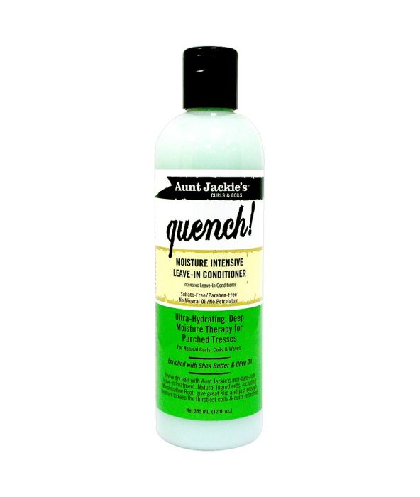AUNT JACKIE'S QUENCH MOISTURE INTENSIVE LEAVE-IN CONDITIONER 12 OZ - All Star Beauty Complex