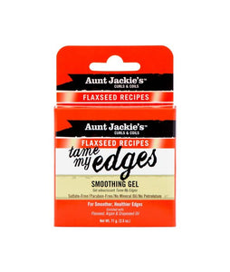 AUNT JACKIE'S FLAXSEED RECIPES TAME MY EDGES SMOOTHING GEL 2.5 OZ - All Star Beauty Complex