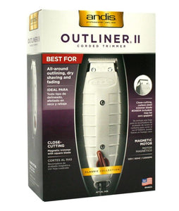 ANDIS OUTLINER II CORDED TRIMMER #04614 - All Star Beauty Complex