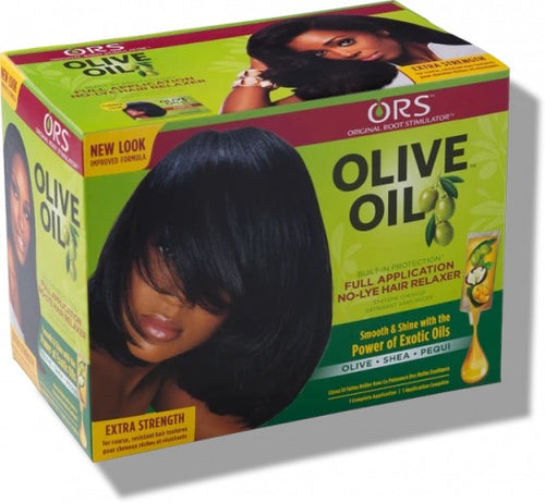 ORS Olive Oil Built-In Protection No-Lye Hair Relaxer - All Star Beauty Complex