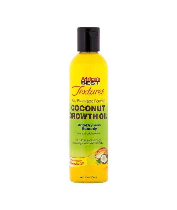 Africa's Best Textures Coconut Growth Oil 8oz - All Star Beauty Complex