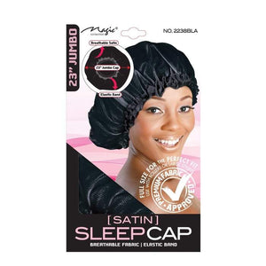 "Magic Collection Satin Sleep Cap 23"" - All Star Beauty Complex"