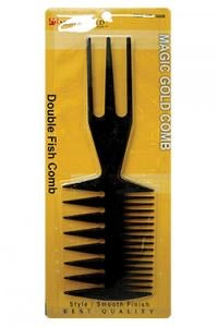 Magic Gold Comb Double Fish Comb - All Star Beauty Complex