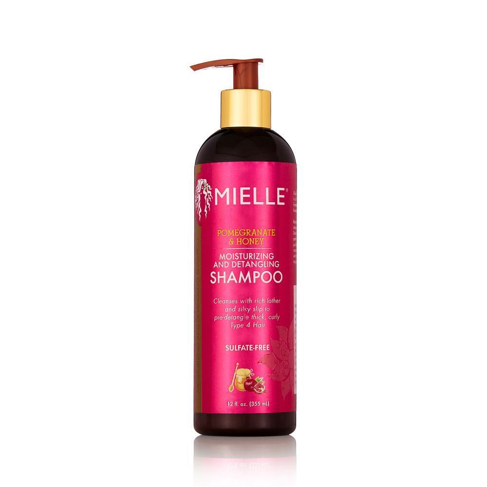 MIELLE POMEGRANATE AND HONEY MOISTURIZING AND DETANGLING SHAMPOO - All Star Beauty Complex