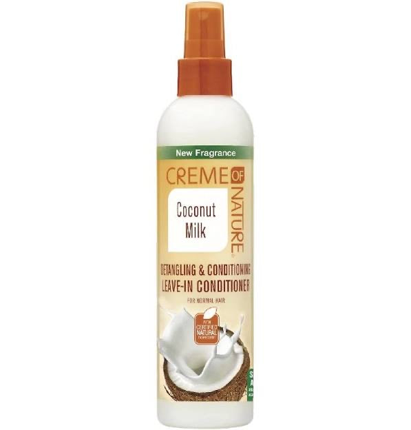 Creme Of Nature Coconut Milk Leave In Conditioner  8.45oz - All Star Beauty Complex