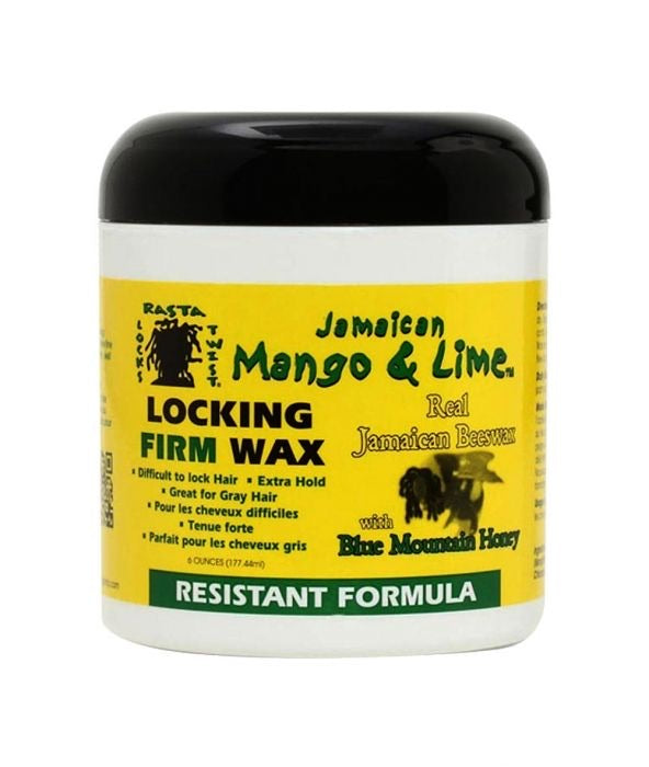 Jamaican Mango & Lime Locking Firm Wax Resistant Formula - All Star Beauty Complex