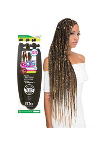 "Janet Collection Pre-Stretched 6X EZ TEX 56"" Braiding Hair - All Star Beauty Complex"