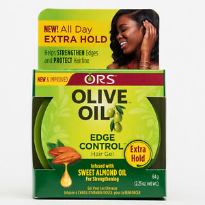 ORS Olive Oil Edge Control Hair Gel Extra Hold 2.25oz - All Star Beauty Complex