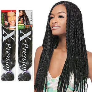 "X-Pression Ultra Braid 82"" Long - All Star Beauty Complex"