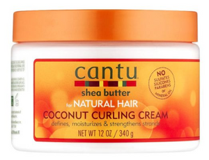 Cantu Shea Butter Coconut Curlng Cream - All Star Beauty Complex
