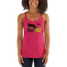 Load image into Gallery viewer, Womens' Drone/Livestock Racerback Tank