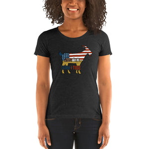 Womans' American Goat t-shirt