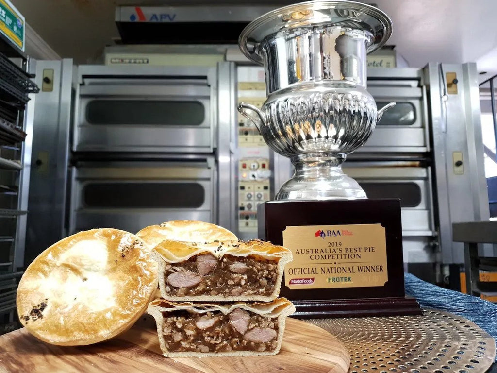 Country Cob Bakery Victoria Takes Out Award For Australia's Best Pie