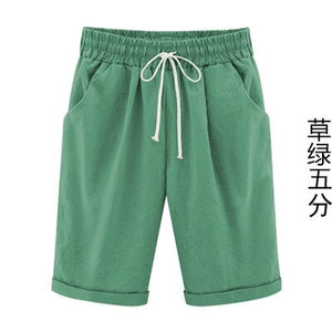 Summer Fashion Casual Thin Section Plus Size Short