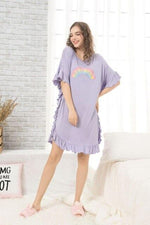 Spring Summer Pregnancy Maternity Sleepwear Breastfeeding Casual Dress