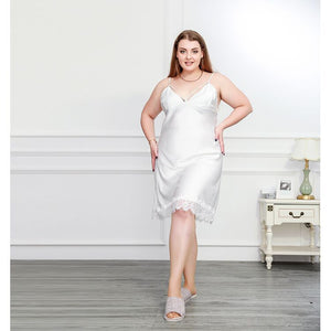 Sexy Lingerie Lace Plus Size Nightdress