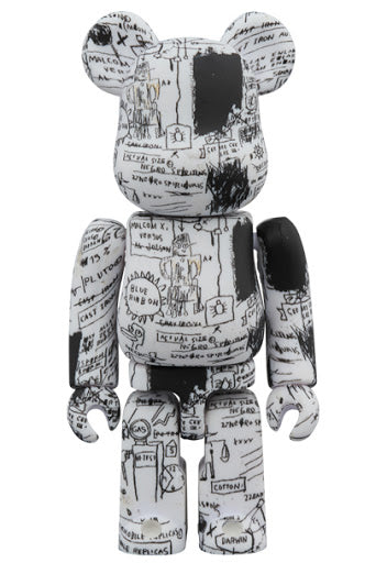 BE@RBRICK × Jean-Michel Basquiat #3 1000%  Multi