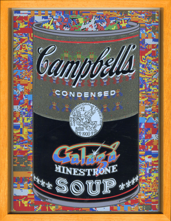 森洋史 / If There was impossible Campbell's Soup Cans... Galaga Minestrone / miniature edition