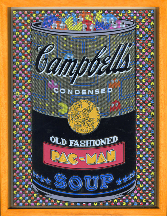 森洋史 / If There was impossible Campbell's Soup Cans... Old Fashioned PACMAN / miniature edition - YOUANDART(ユーアンドアート)