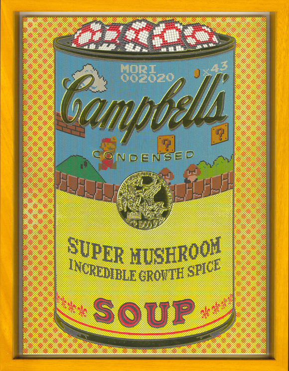 森洋史 / If There was impossible Campbell's Soup Cans... Super Mushroom / miniature edition