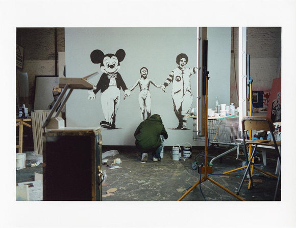 James Pfaff / Banksy Painting The Canvas Session 1 Edition 200